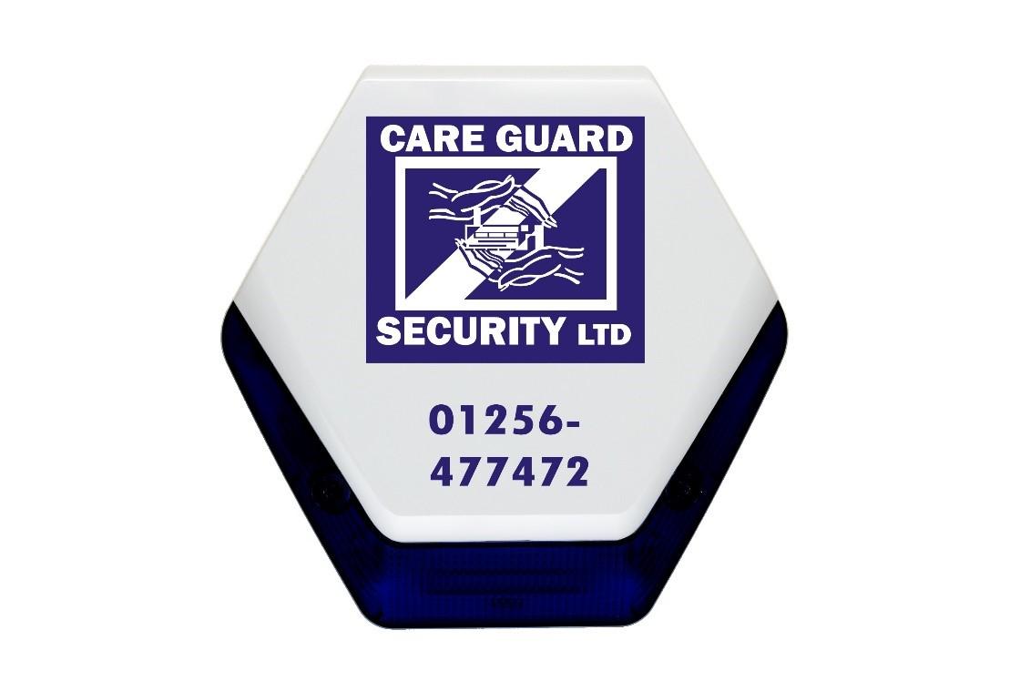 External sounder alarm